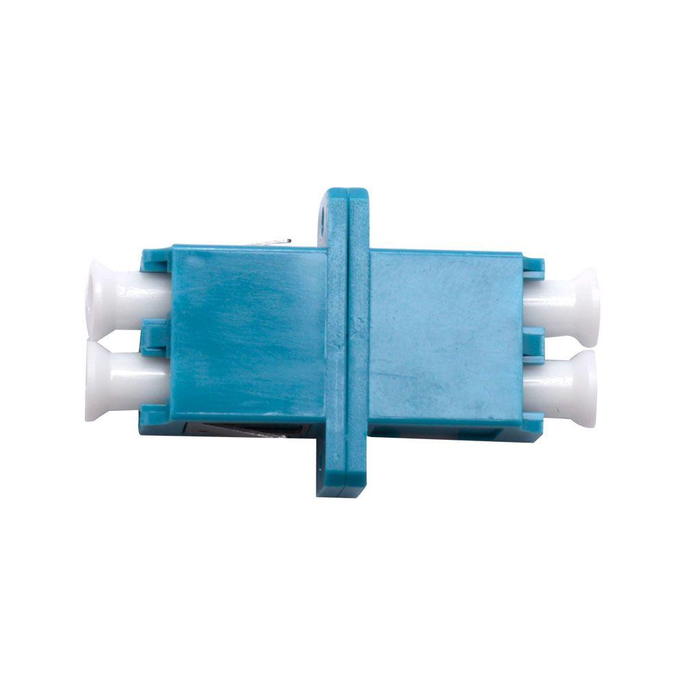 Adaptador Acoplador Óptico LC Duplex monomodo SM Azul