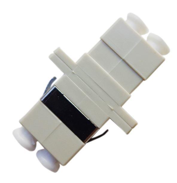 Adaptador de fibra óptica Acoplador Óptico LC/PC MM multimodo Duplex