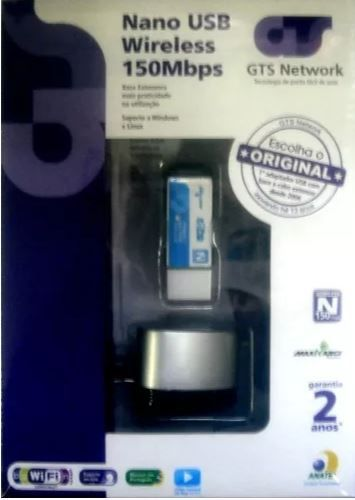 Adaptador wireless NANO USB 150MBPS
