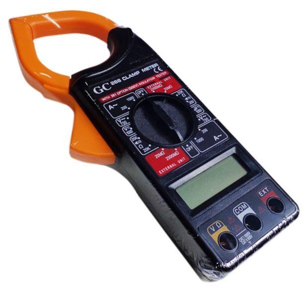 Alicate Amperímetro standard modelo 266 - GCT