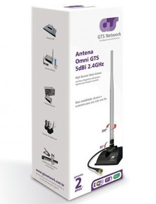 Antena Wireless OMNI 5DBI Hignbooster GTS 360º
