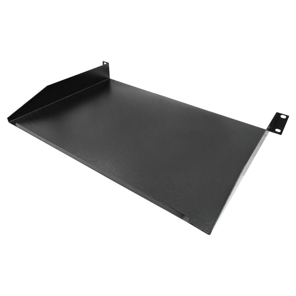 Bandeja de fixação Frontal para rack 19 polegadas 1U x 300 mm