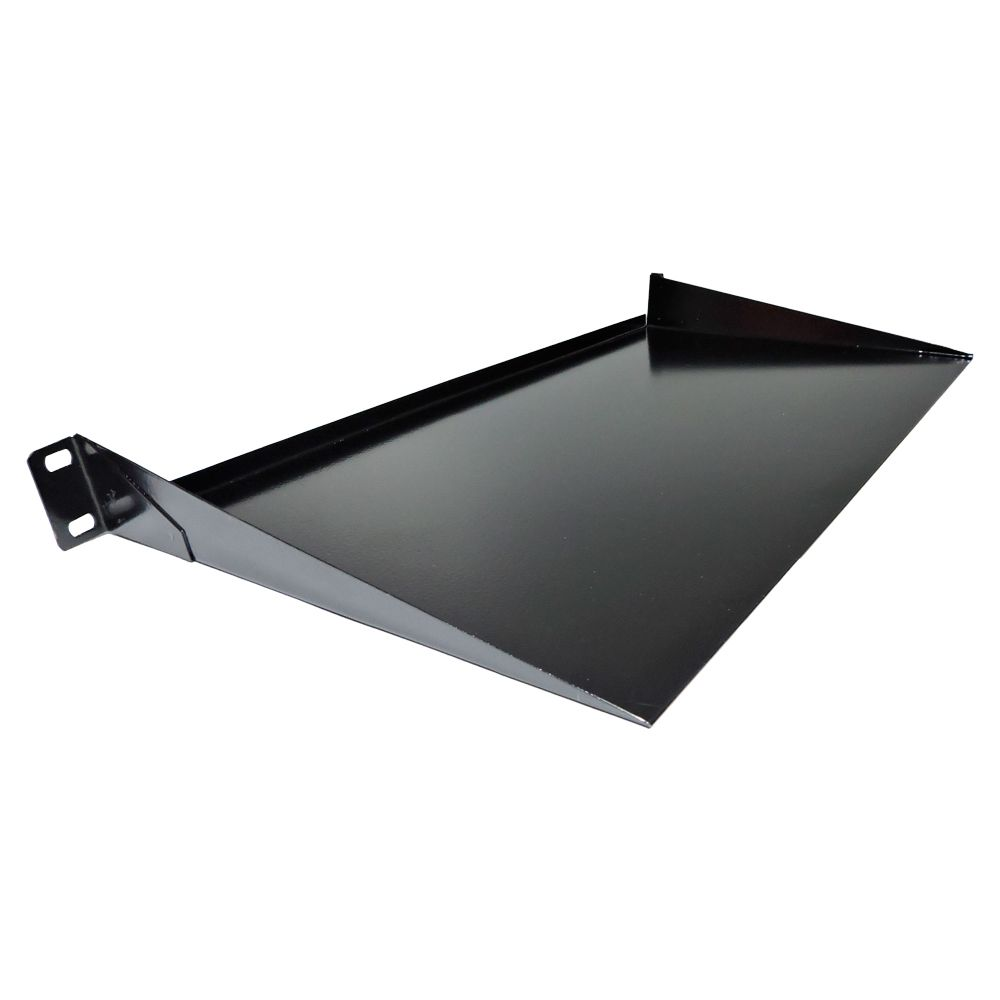 Bandeja de fixação Frontal para rack 19 polegadas - 1U  x 250 mm