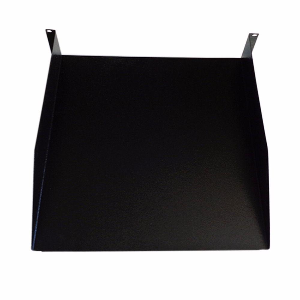 Bandeja fixação Frontal 2U 19 x 450 - Preto