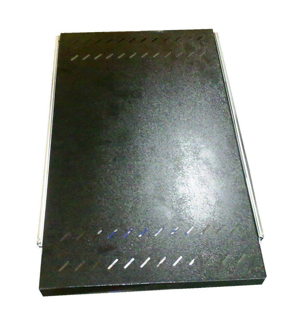 Bandeja Móvel Ventilada 1 U x 500 mm - Preto