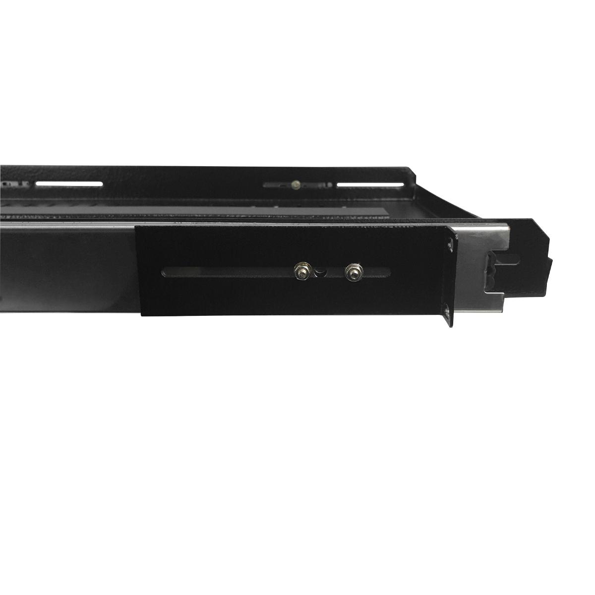 Bandeja Móvel Ventilada 1 U x 600 mm - Preto