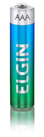 Pilhas Alcalina Elgin Pacote Com 6 AA + 2 AAA