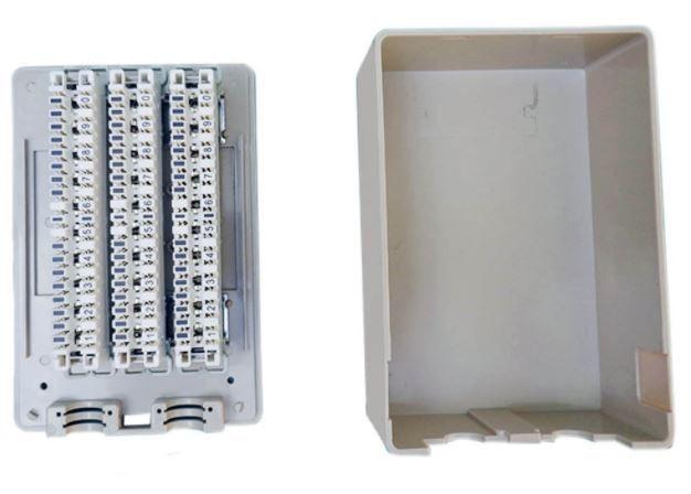 Caixa de Distribuição de telefonia 30 Pares