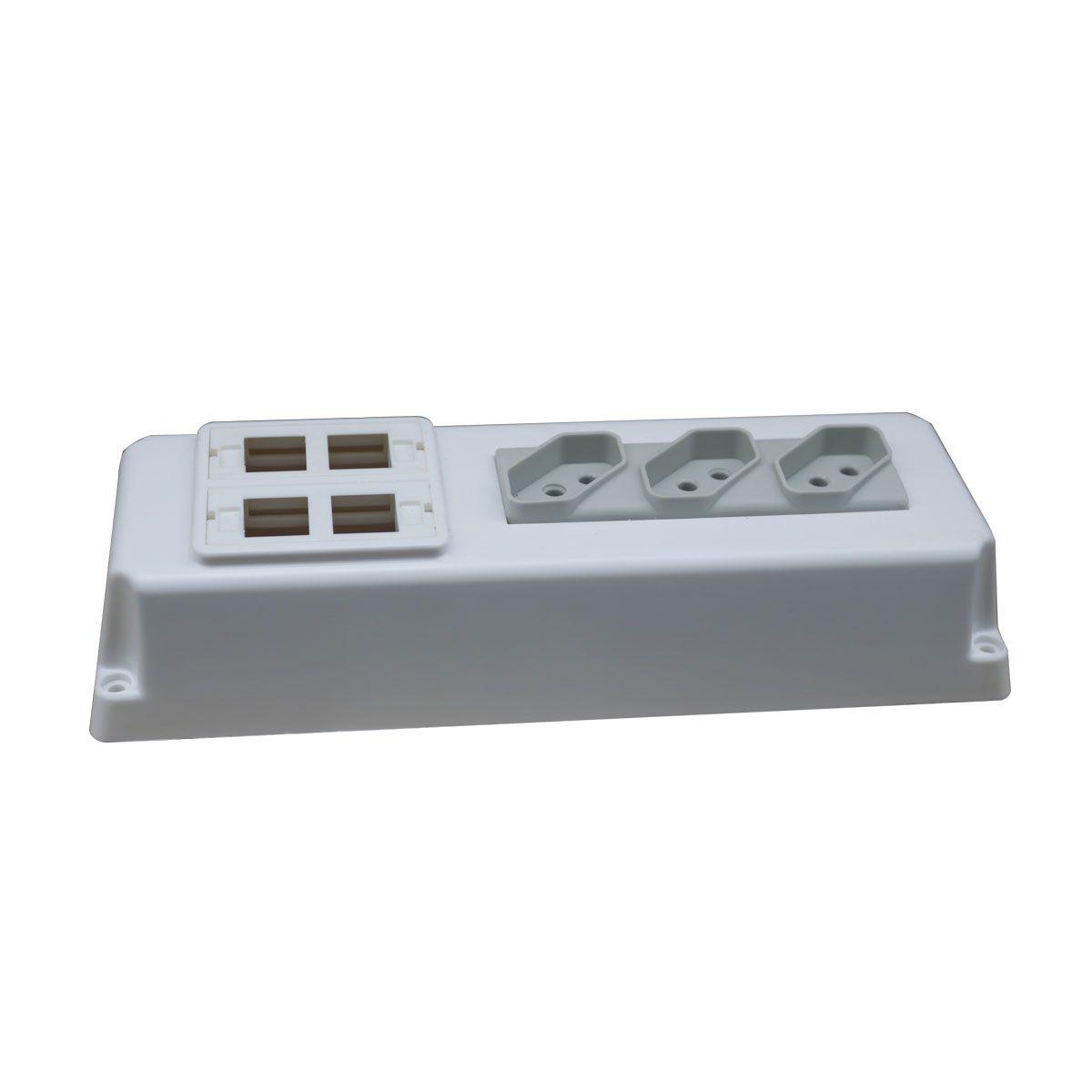 Caixa de Elétrica e Dados branca
