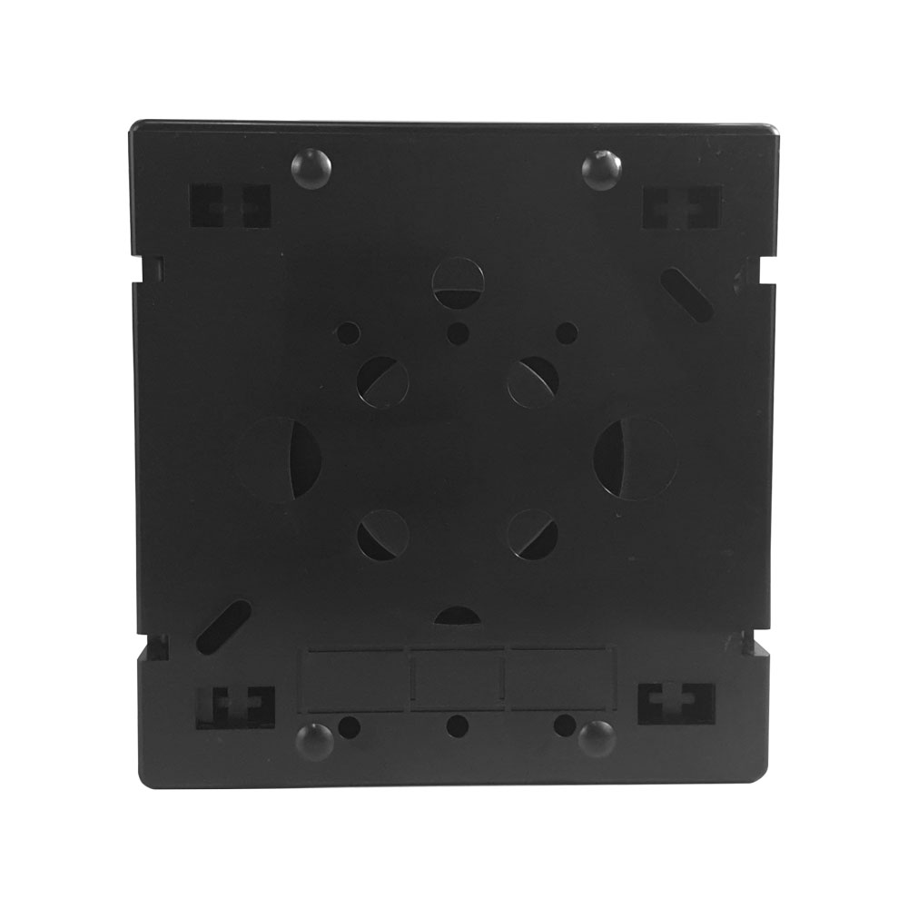 Caixa de Emenda Óptic-Block 12F - Terminador óptico de PVC quadrado