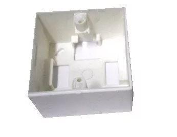 Caixa de Sobrepor 3x3 completa c/ espelho 2 saídas - SK