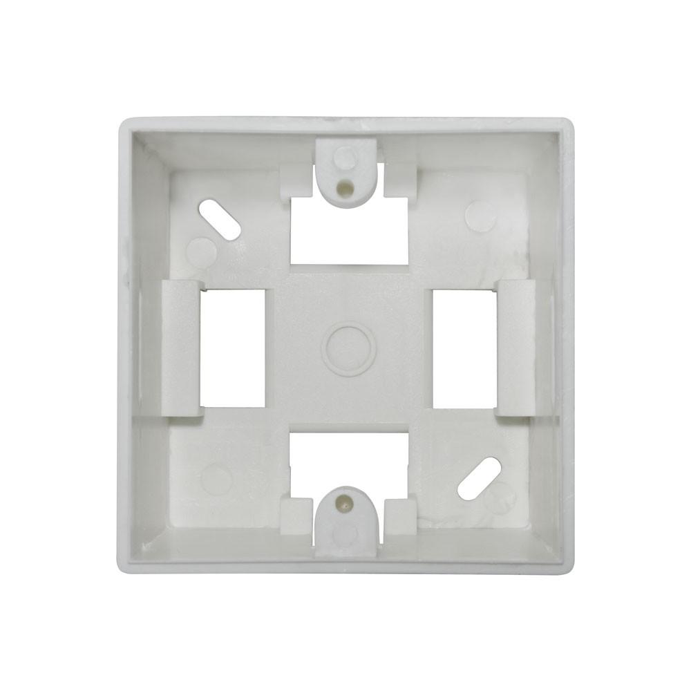 Caixa de Sobrepor 3x3 s/ espelho branca - S