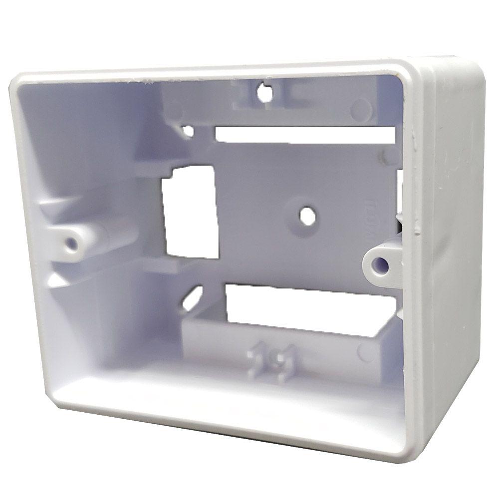Caixa de Sobrepor 75x65x43mm para Canaleta ILUMI 6206