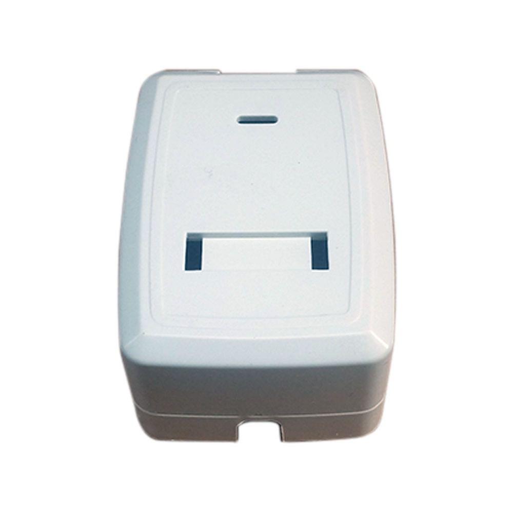 Caixa de Sobrepor Surface Box 1 Saída branca