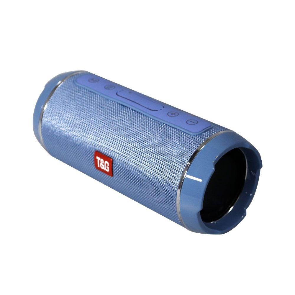 Caixa de som Bluetooth TG-116 10W - Azul Claro