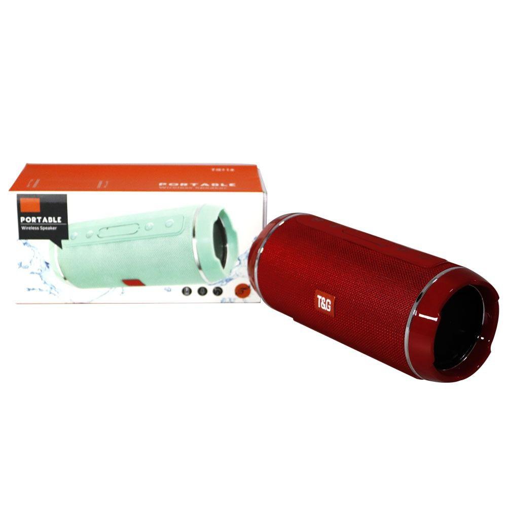 Caixa de som Bluetooth TG-116 10W - Vermelha