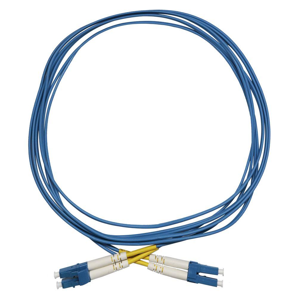 Cds Cordão De Fibra Óptica Duplex 2,5m Monomodo Lc-pc Lc-pc