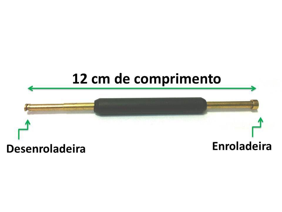Chave Enroladeira Desenroladeira para Bloco Bli dupla para telefonia