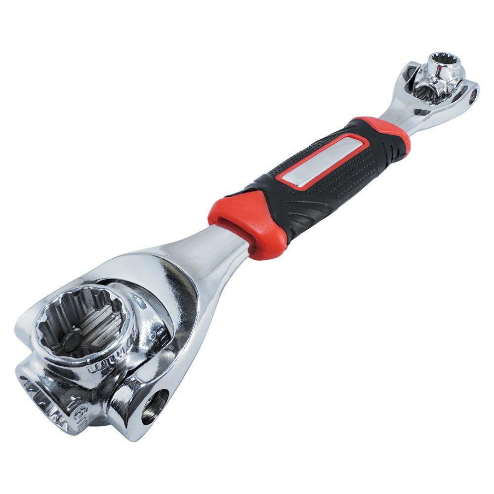 Chave Tiger wrench multifunção 48 em 1 sextavado torx