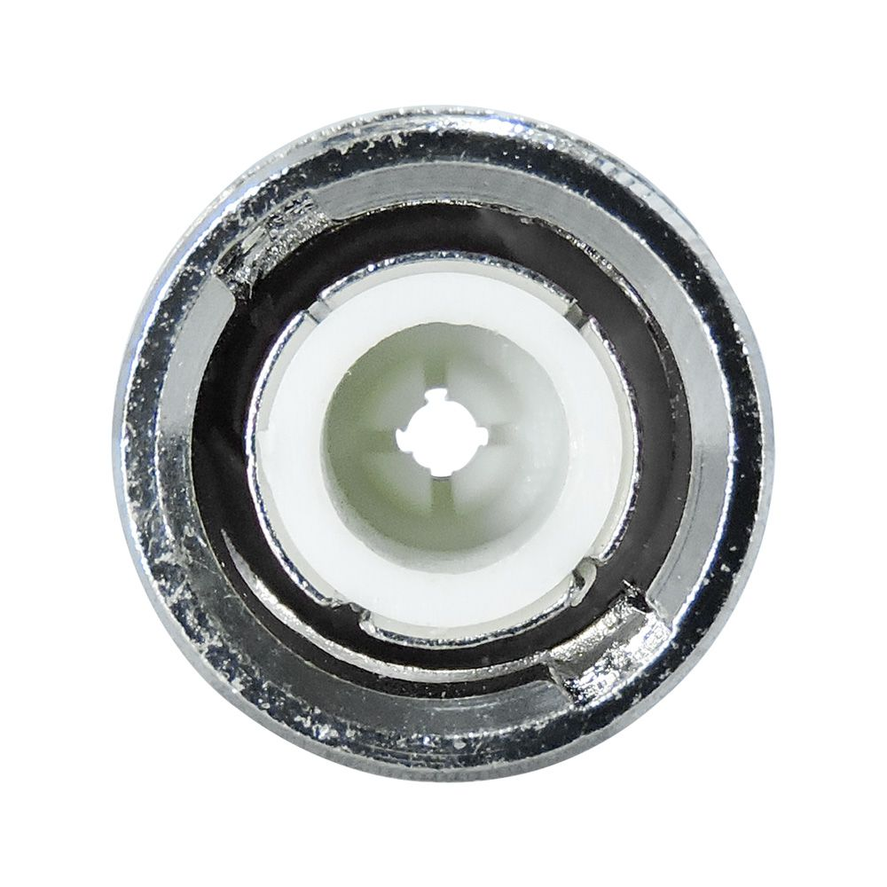 Conector Compressão BNC RG59 PRETO