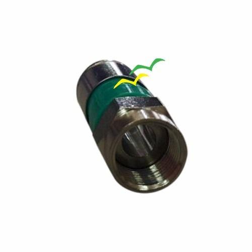 """Conector de compressão para cabo coaxial RG06 Tipo """"F"""" CATV CON0010"""