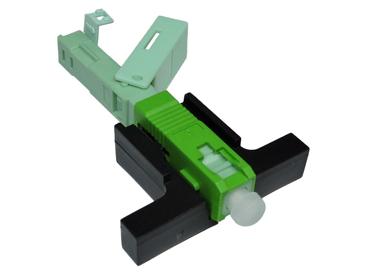 Conector Óptico de fibra óptica FTTH de campo SC/APC modelo One click