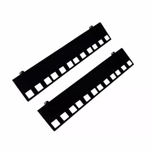 Conjunto 2° Plano Mini Rack 4U - Preto