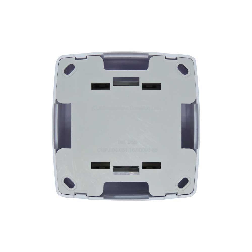 Conjunto 2 Tomada Sobrepor 10A 250V - Box Monobloco - ILUMI 84120