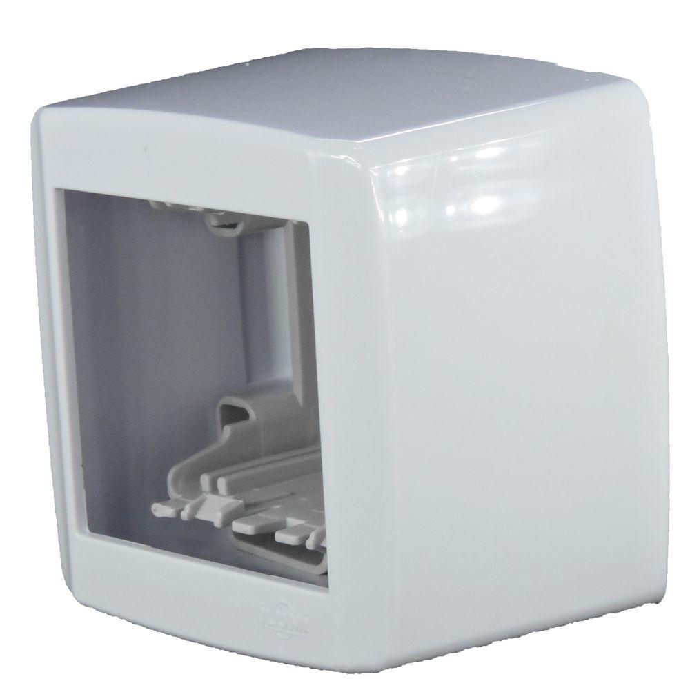 Conjunto Base + Moldura 2 Módulos - Box Slim - ILUMI