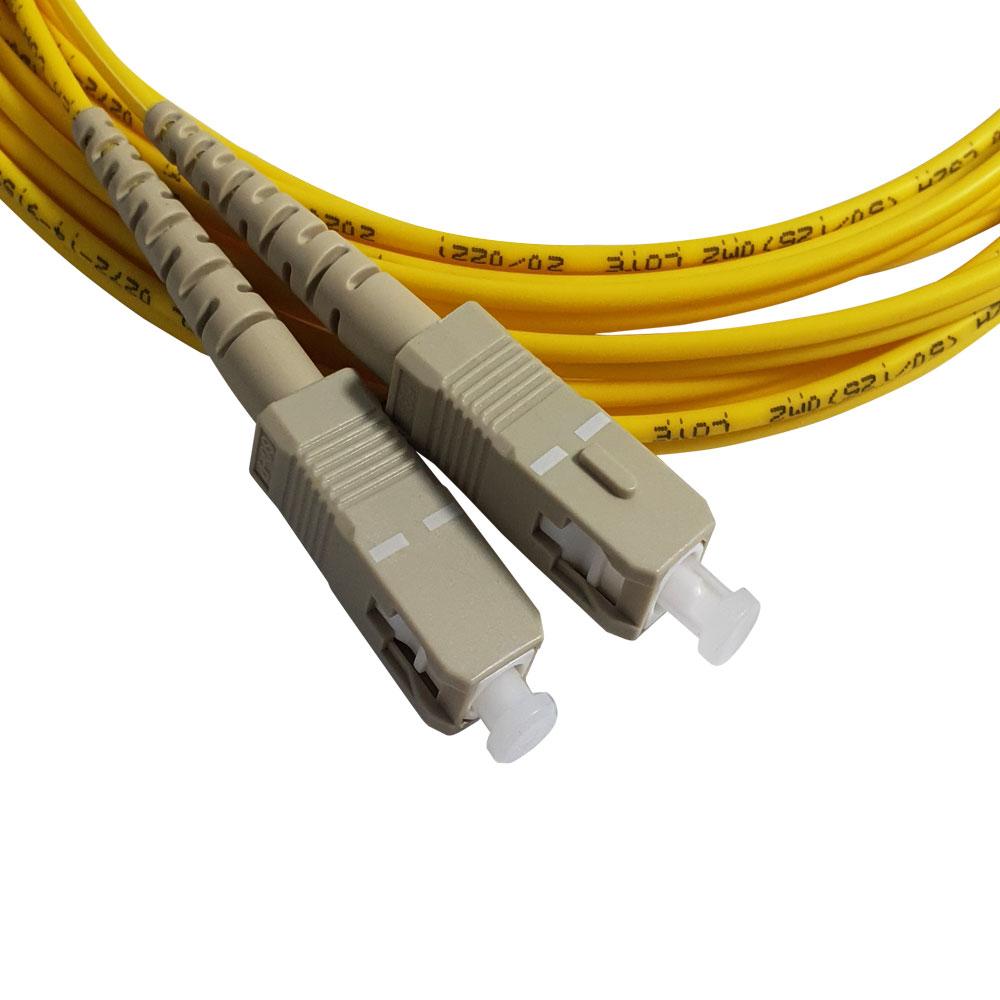 Cordão Óptico Duplex MM SC/SC (50/125) 2,5m