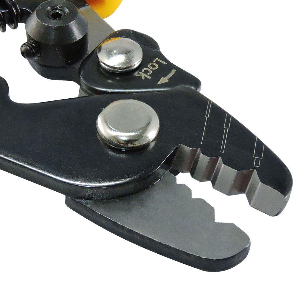 Decapador de Fibra Óptica 3 furos - Ferramenta Manual para decape de FO