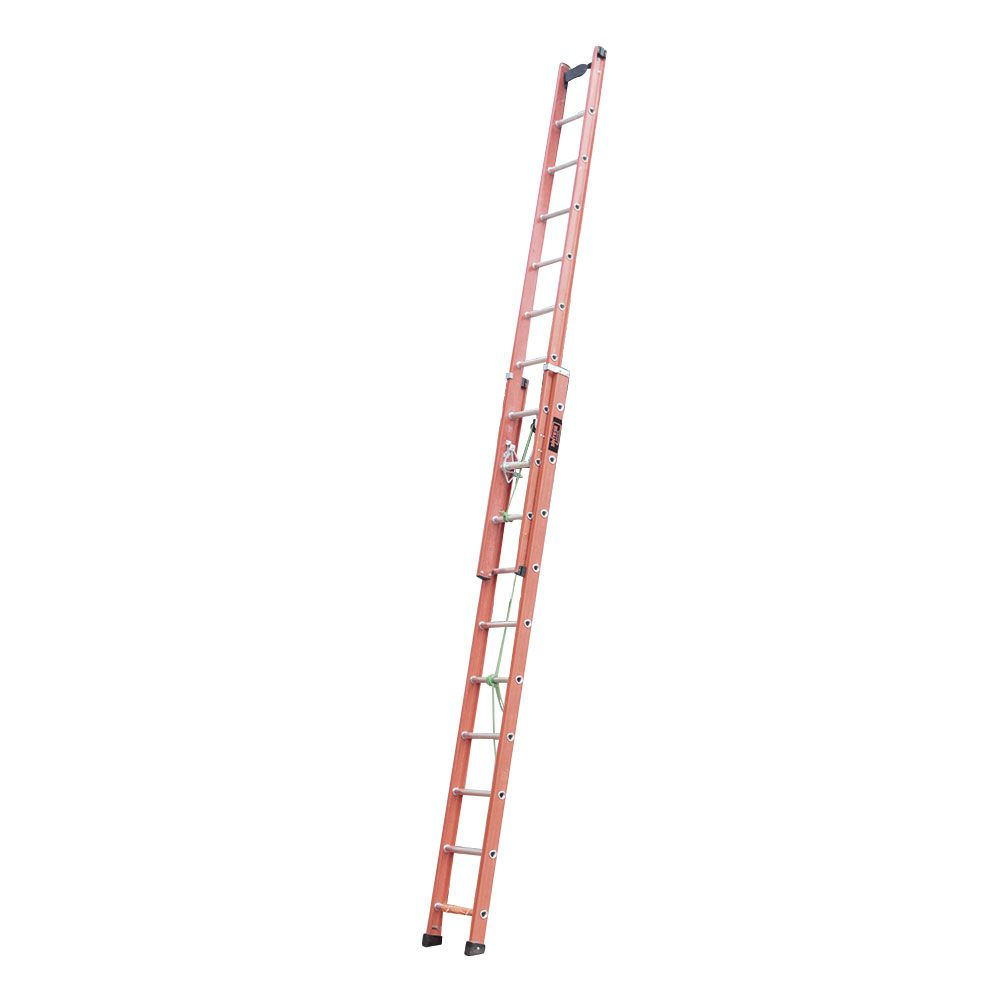 Escada Extensível Degrau D Vazado EAFD-17 3,30 X 5,40M - Sintese