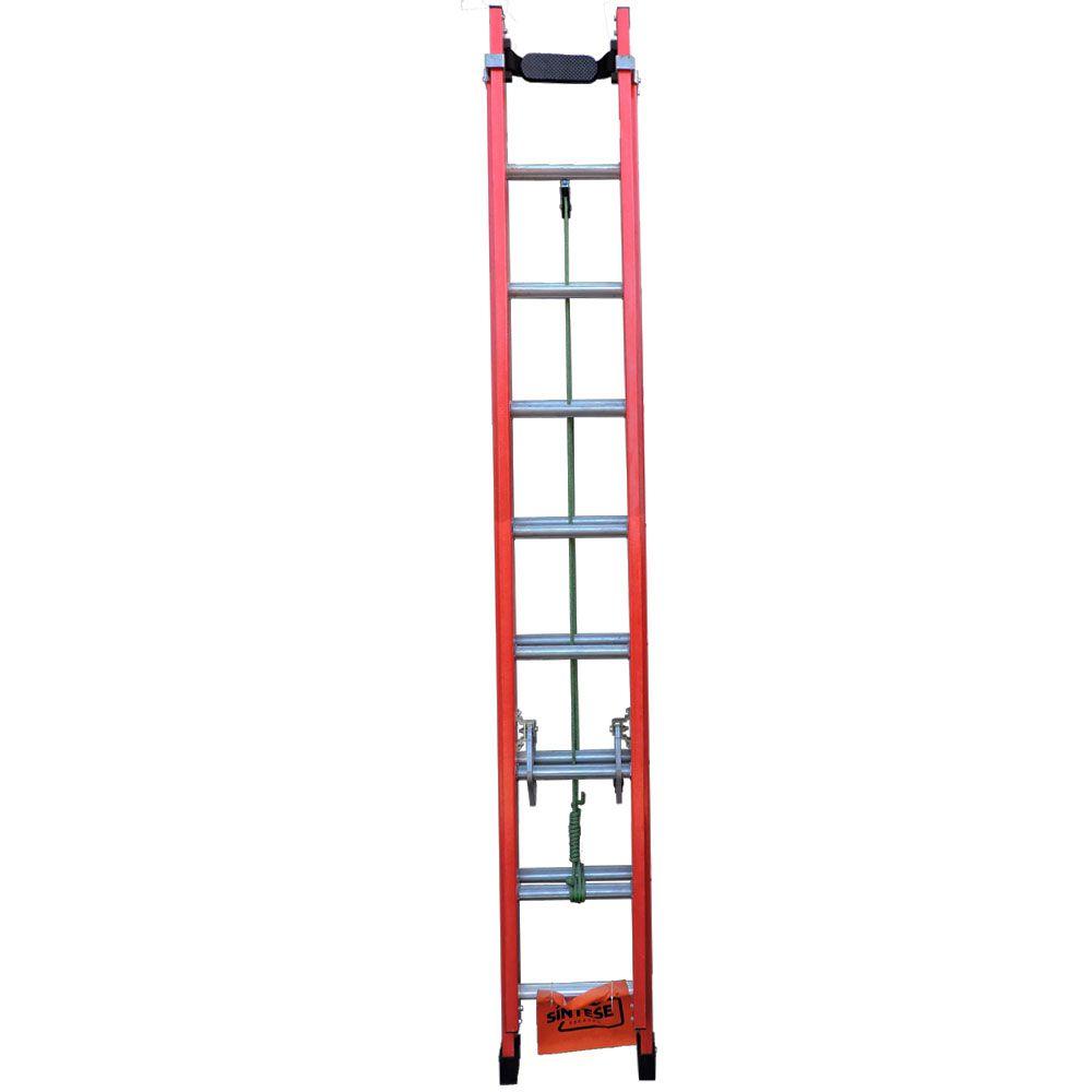 Escada Extensível Fibra de Vidro 2,70 x 4,20 m - Síntese