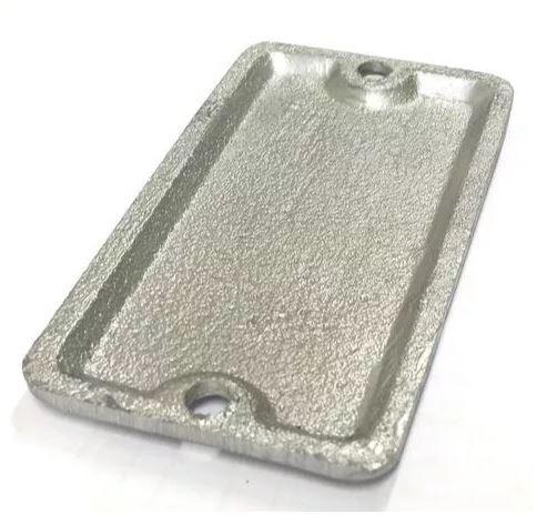"""Espelho cego p/ condulete tampa para Dailet Múltiplo 3/4"""" e 1/2"""" com 2 parafusos M4x9"""