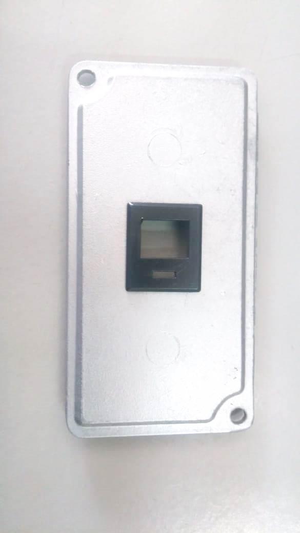 Espelho Condulete 1 Polegada P/ 1 Rj45 Aluminio