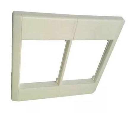 Espelho Moldura 4x4 - Branco