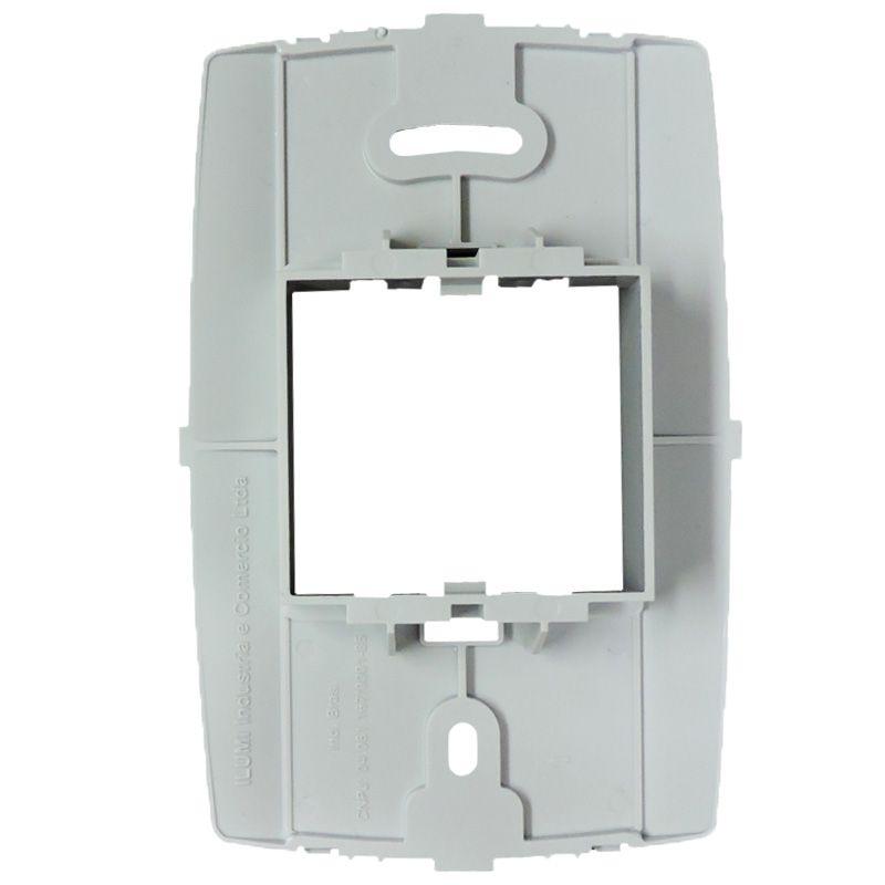 Espelho PLACA 4X2 CEGA C/ SUPORTE - Linha SLIM - Ilumi