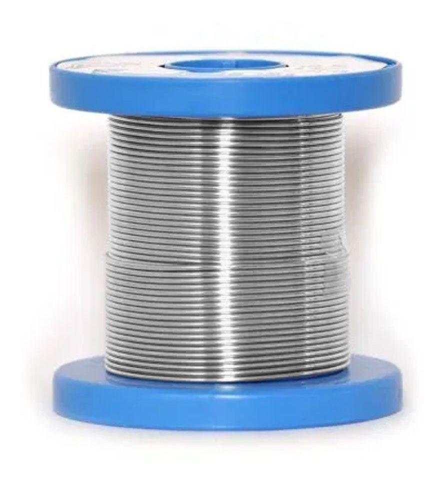 Estanho Solda Best modelo 189 MSX10 60X40 para soldagem de eletrônicos 125G Azul