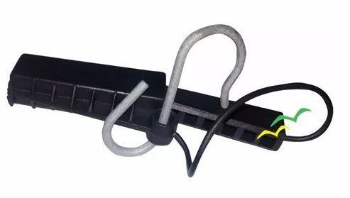 Esticador Plástico para Drop Óptico com Abertura Lateral JP Preto