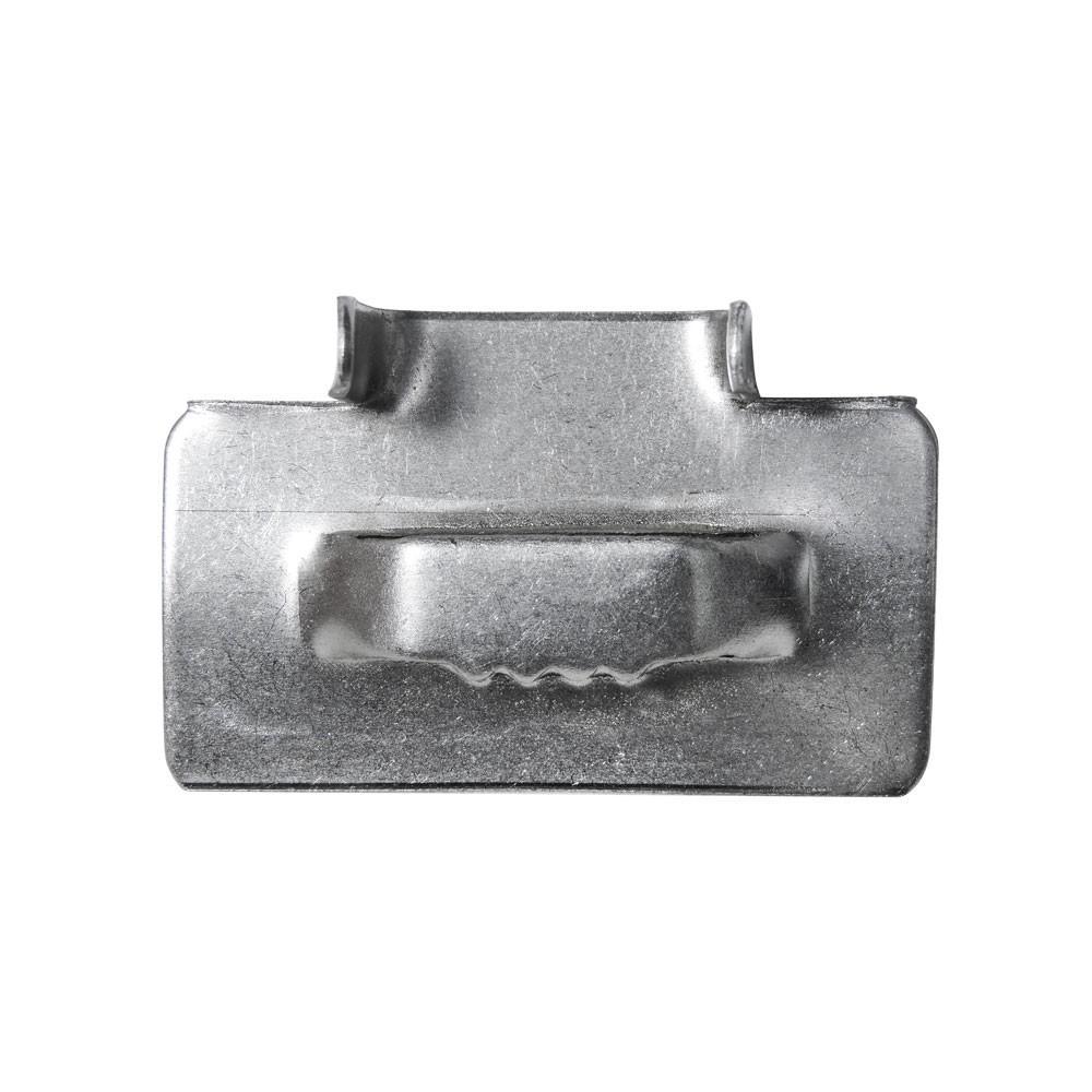 "Fecho de Aço Inox 3/4"" para fita Fusimec"