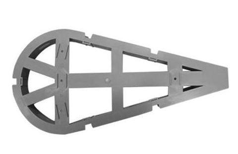 Fiberloop Conjunto reserva técnica tipo raquete Optloop cinza