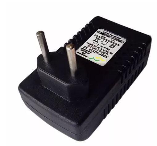 Fonte POE Chaveada para equipamento de Internet via rádio CPE 12V x 1A