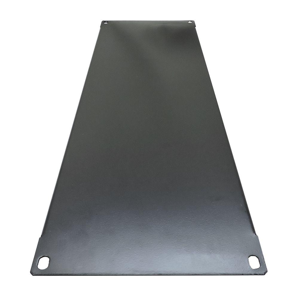 Frente Falsa para rack 19 polegadas altura 3U - Preta