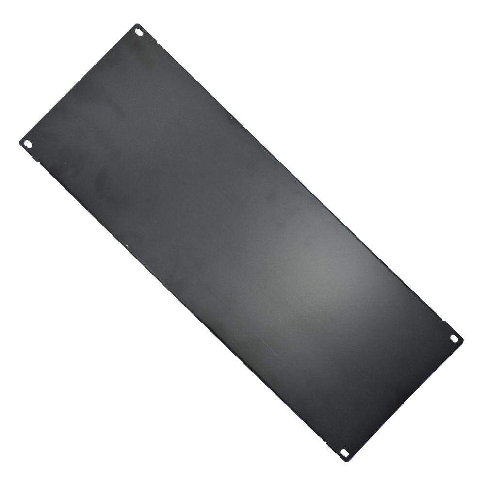 Frente Falsa para rack 19 polegadas altura 4U - preta