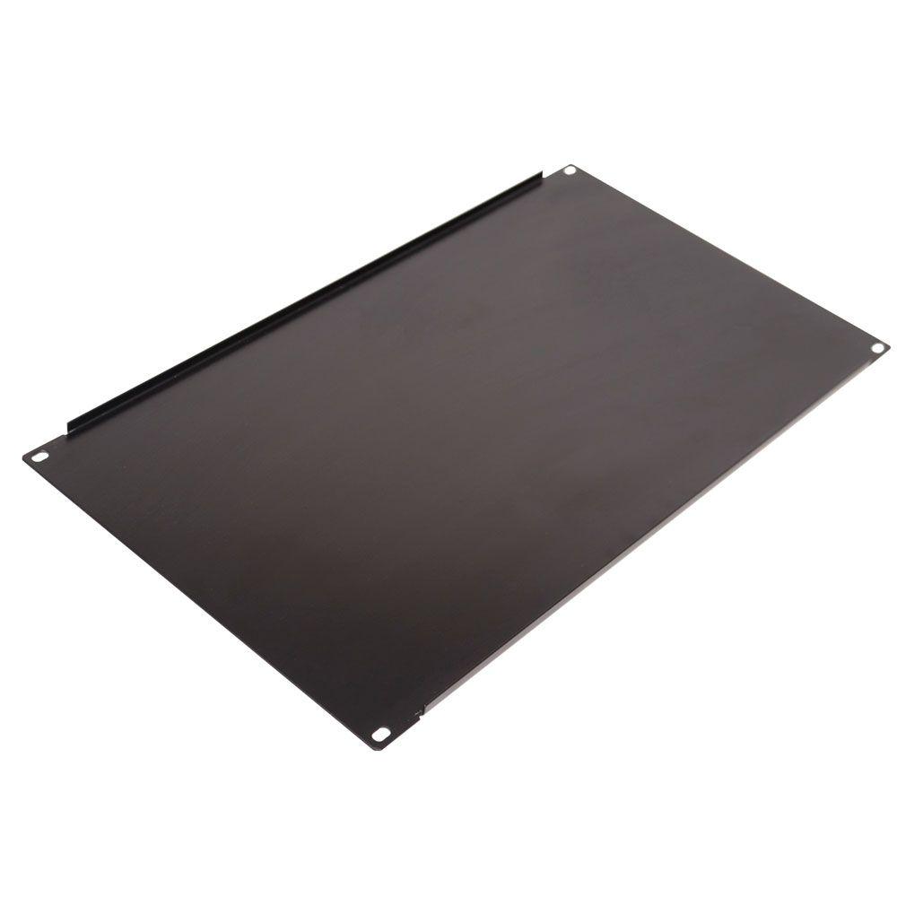 Frente Falsa para rack 19 polegadas - altura 6U - Preta Lisa