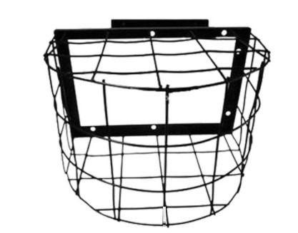 Grade Protetora De Câmera Segurança Externa Aço Preta Gaiola