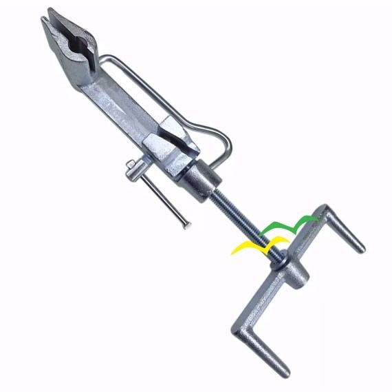 Kit 25 fechos ½ + 1 rolo 25 metros de fita ½ + 1 máquina FUSIMEC