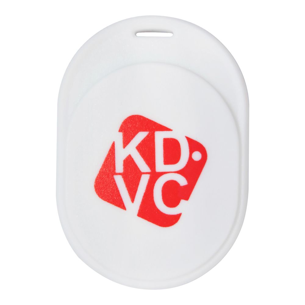 Kit com 2 Localizador Bluetooth KDVC (1 Motion + 1 Mini) Para Celular Carteira Chaveiro ou PET