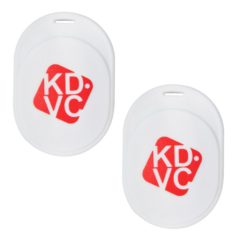 Kit com 2 Localizador Bluetooth KDVC MIni Para Celular Carteira Chaveiro ou PET