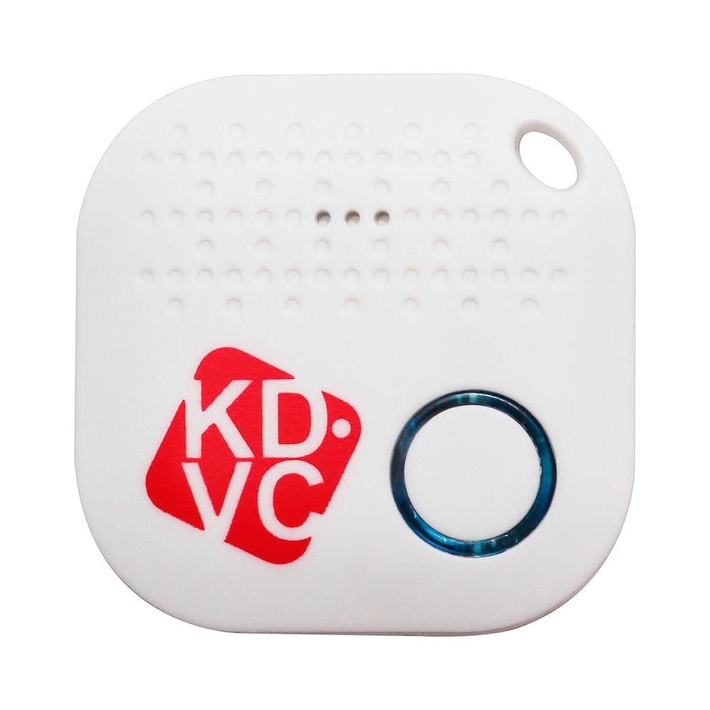 Kit com 4 Localizador Bluetooth KDVC (2 Motion + 2 Mini) Para Celular Carteira Chaveiro ou PET